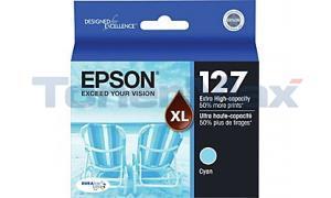 EPSON STYLUS NX625 INK CARTRIDGE CYAN XHY (T127220)