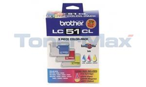 BROTHER MFC-240C INK CARTRIDGES CMY (LC513PKS)