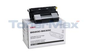 OKIDATA B6200/6300 TONER CARTRIDGE BLACK 11K (52114501)
