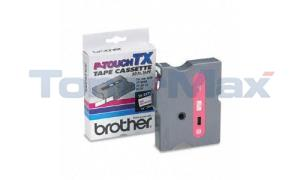 BROTHER TX TAPE RED ON WHITE 12 MM X 15 M (TX-2321)