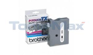 BROTHER P-TOUCH TAPE WHITE/BLACK (24 MM X 15 M) (TX-3551)