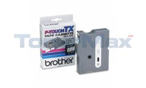 BROTHER P-TOUCH TAPE WHITE/CLEAR (1/2 X 50) (TX-1351)