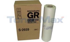 RISO GR3770 78W MASTERS A3 (S-2659)