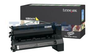 LEXMARK C750 RP PRINT CART YELLOW (10B041Y)