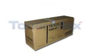 KYOCERA MITA FS-C5015N TONER CYAN (TK-522C)