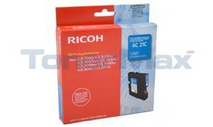 RICOH GX3000 GC21C PRINT CARTRIDGE CYAN 1K (405533)