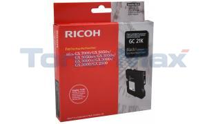 RICOH GX3000 GC21K PRINT CARTRIDGE BLACK 1.5K (405532)