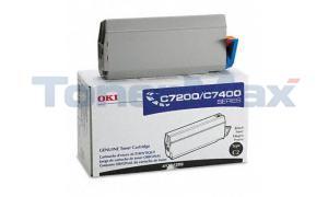 OKIDATA C7000 TYPE C2 TONER BLACK (41304208)