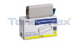 OKIDATA C7000 TYPE C2 TONER YELLOW (41304205)