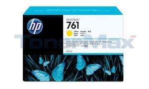 HP NO. 761 INK CARTRIDGE YELLOW 400ML (CM992A)