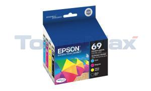 EPSON NO 69 INK CARTRIDGES COMBO PACK (T069120-BCS)