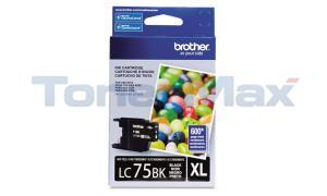 BROTHER MFC-J6910DW INK CARTRIDGE BLACK HY (LC-75BK)