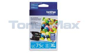 BROTHER MFC-J6910DW INK CARTRIDGE CYAN HY (LC-75C)