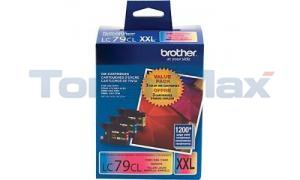 BROTHER MFC-J6910DW INK VALUE PACK COLOR SUPER HIGH YIELD (LC-79-3PKS)