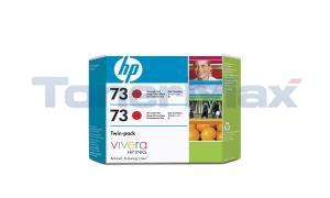 HP NO 73 INK CHROMATIC RED TWIN-PACK (CD952A)