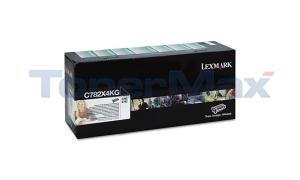 LEXMARK C782 TONER CARTRIDGE BLACK RP XHY TAA (C782X4KG)