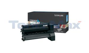 LEXMARK C782 XL PRINT CART CYAN 16.5K (C782U2CG)