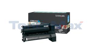 LEXMARK C782 XL PRINT CARTRIDGE CYAN RP 16.5K (C782U1CG)