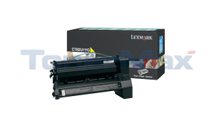 LEXMARK C782 XL PRINT CARTRIDGE YELLOW RP 16.5K (C782U1YG)