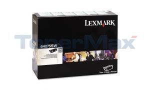 LEXMARK T640 RP TONER CARTRIDGE BLACK (64075SW)