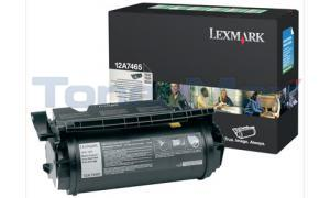 LEXMARK T632 T634 TONER CARTRIDGE RP 32K (12A7465)