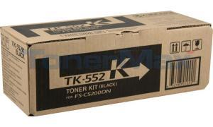 KYOCERA MITA FS-C5200DN TONER KIT BLACK (TK-552K)