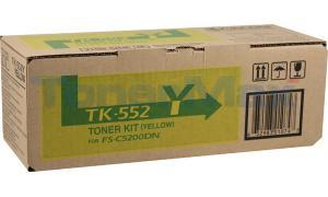 KYOCERA MITA FS-C5200DN TONER KIT YELLOW (TK-552Y)