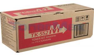KYOCERA MITA FS-C5200DN TONER KIT MAGENTA (TK-552M)