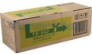 KYOCERA MITA FS-5100DN TONER KIT YELLOW (TK-542Y)