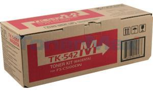 KYOCERA MITA FS-5100DN TONER KIT MAGENTA (TK-542M)
