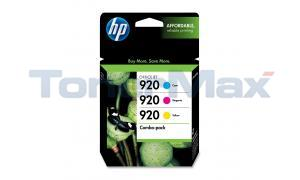 HP NO 920 INK CARTRIDGE CMY COMBO-PACK (CN066FN)