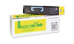 KYOCERA MITA FS-C8500DN TONER KIT YELLOW (TK-882Y)