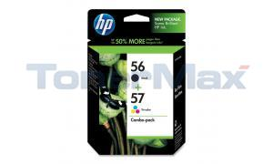HP NO 56 57 INK CARTRIDGE CMYK COMBO PACK (C9321FN)