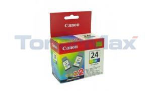 CANON BCI-24 INK TANK COLOR TWIN PACK (6882A010)