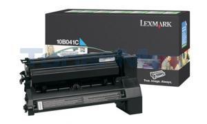 LEXMARK C750 RP PRINT CART CYAN (10B041C)