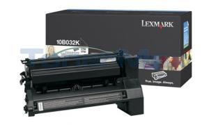 LEXMARK C750 PRINT CART BLACK HY (10B032K)