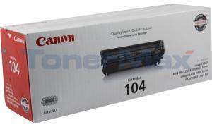 CANON FAXPHONE L120 TONER BLACK (0263B001)