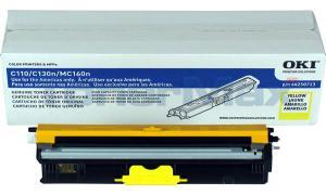 OKI C110 TONER CARTRIDGE YELLOW HY (44250713)