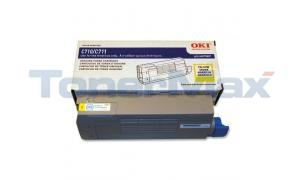 OKI C711 TONER CARTRIDGE YELLOW (44318601)