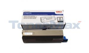 OKI C711 TONER CARTRIDGE BLACK (44318604)