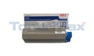 OKI C610 TONER CARTRIDGE BLACK (44315304)