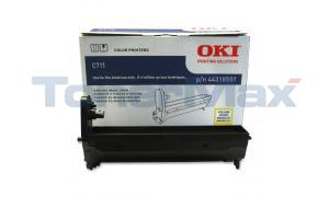 OKI C711 IMAGE DRUM YELLOW (44318501)
