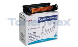 OKIDATA C7200/C7400 TYPE C2 IMAGE DRUM CYAN (41304107)