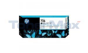 HP NO 726 INK CARTRIDGE MATTE BLACK 300ML (CH575A)