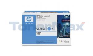 HP CLJ 4700 GOVERNMENT PRINT CARTRIDGE CYAN (Q5951AG)
