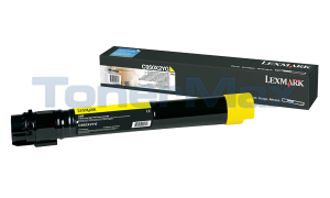 LEXMARK C950 TONER CART YELLOW HY (C950X2YG)
