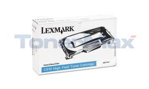 LEXMARK C510 GOV TONER CART CYAN HY (20K1441)
