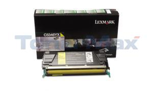 LEXMARK C534 RP TONER YELLOW TAA 7K (C5346YX)