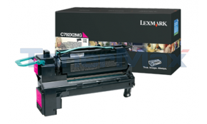 LEXMARK C792 PRINT CART MAGENTA 20K (C792X2MG)
