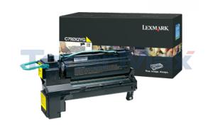LEXMARK C792 PRINT CART YELLOW 20K (C792X2YG)